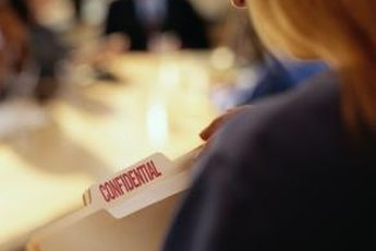 The level of confidential information varies by organization and industry.