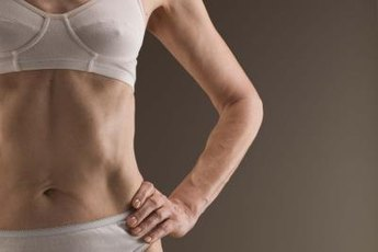 Exercising when underweight helps you build muscle mass and add weight.