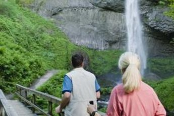 Enjoy Nordic walking alone or with someone else for a social component.