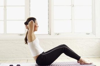 Situps alone won't tone the sides of your stomach.