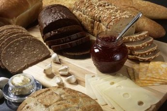 Pumpernickel bread is a rich source of fiber and beneficial antioxidants.