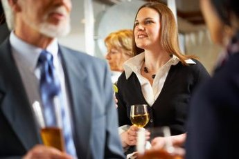 Attend events organized by your professional organizations; they can give you new job leads.