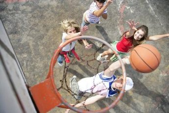 Playing basketball can improve your health in many ways.