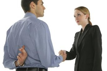 Cheating leads to distrust in the workplace.