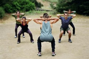 Tabata squats are an intense CrossFit exercise.