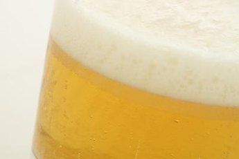 Ultra-light beer is your best bet if you're counting carbs.