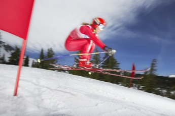 How to Determine the Right Size for Slalom Race Skis