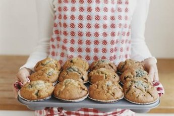 Sneak protein powder into your day with a mid-morning muffin.