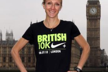 Marathon medalist Paula Radcliffe doesn't let asthma keep her from running.