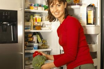 Choose fruits, vegetables, whole grains and high-protein foods.
