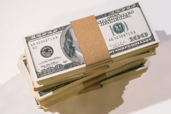 A bond pays you a stream of cash interest payments.