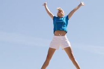 Jumping jacks are a calisthenic exercise that burns fat and works your muscles.