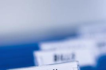 File all tax-related documents in a folder for easy retrieval and reference when completing your tax returns.