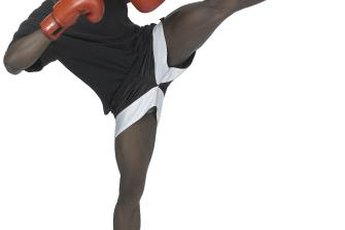 Because kickboxing is high-impact, consult a physician before starting if you're new to fitness.