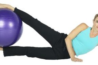 The Pilates leg series can shape the entire lower body.