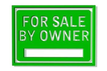 Proper signage is a key component to selling a home.