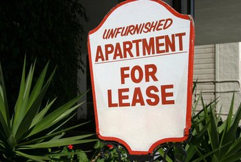 Breaking a written lease will cost the tenant money.
