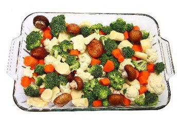 The nutrient value of some vegetables may be higher when cooked.