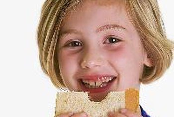 When making your child's sandwich, use whole-grain or whole-wheat bread.