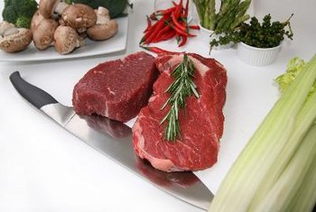Round steak contains a high concentration of minerals like iron and zinc.