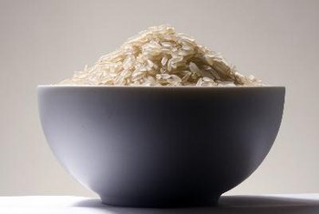Rice is a natural starch.