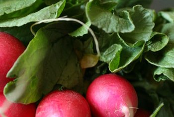Mineral content in radishes may vary according to the variety.
