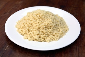 Couscous is a quick and easy side dish.