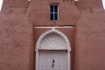 Adobe is one of the oldest construction materials.