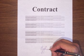 A real estate listing agreement is a binding contract.