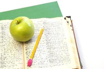 Apples and other fresh fruit provide a healthy boost of energy for studying.