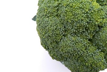 Broccoli is a healthy source of calcium.