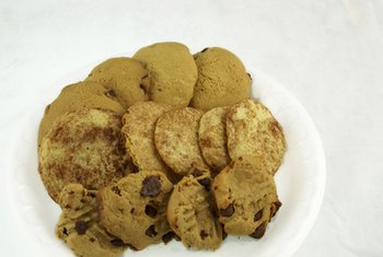 Cookies contain too much sugar to be considered a healthy snack.