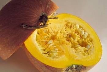 Pumpkin contains fiber, antioxidants and healthy oil.