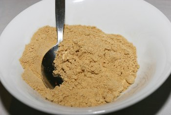 Banana powder is a more concentrated source of potassium.