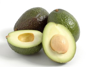 Avocados have a high concentration of potassium.