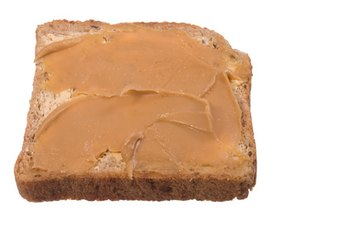 Peanut butter contains heart-healthy unsaturated fats.