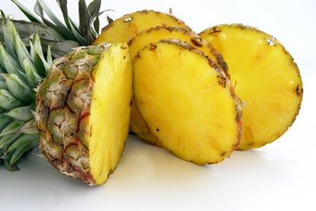 Pineapple is full of fiber to keep you full on your diet.