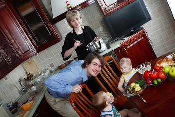 Families that cook and eat together enjoy better health.