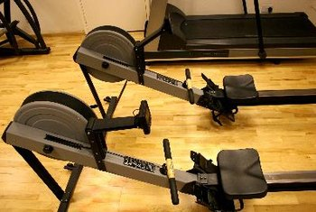 Using a rowing machine can help you boost your calorie expenditure.