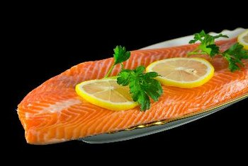 Pair salmon with your favorite starch for a healthy dinner.