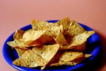 Traditional tortilla chips are often high in fat.