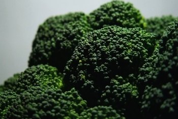 Broccoli provides protein with other nutrients.