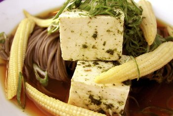 Use tofu as a high-protein meat substitute in recipes.