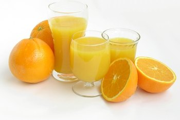 Orange juice can increase your potassium levels.