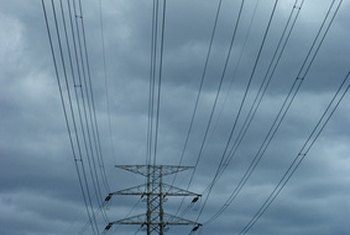Studies show that power lines can lower the value of a property