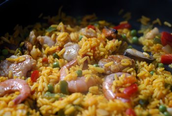 Paella is a versatile dish with a lot of ingredients.