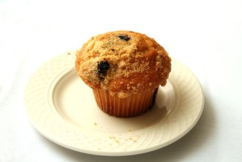 Avoid muffins when eating out if you are watching your calories.