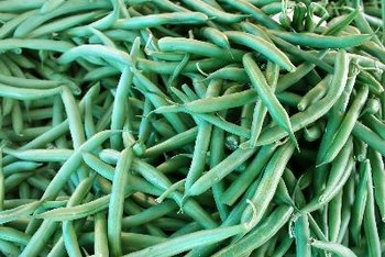 Enjoy string beans as a plant source of iron.
