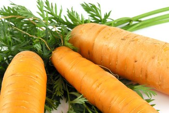 Cooked carrots are an ideal first vegetable for infants.