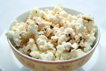 Popcorn can help fulfill your salty craving.
